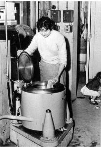 communal washing machine